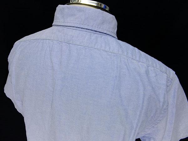 GREAT LAKES GMT. MFG. Co by freewheelers 半袖ボタンダウンシャツ 【LYMAN ライマン<サックスオックスフォード>】