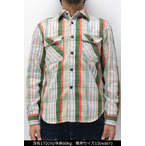ジェラード 【JP02107 ネルシャツ ショート丈 <クリーム>】 JELADO 【JP02107 FLANNEL SHIRTS SHORT LENGTH <CREAM> washed】