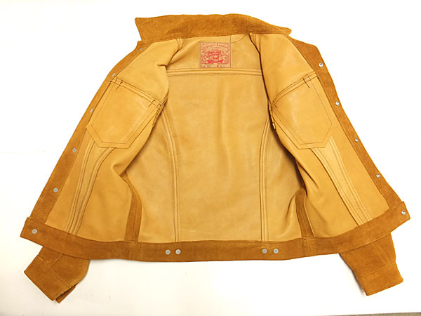 HIPSTER REUNION by freewheelers 【LOT 667 <GOLD BUD> Bull Hide Suede】