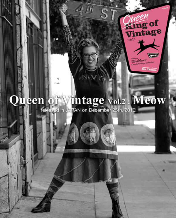 QUEEN Of Vintage No.2 : MEOW