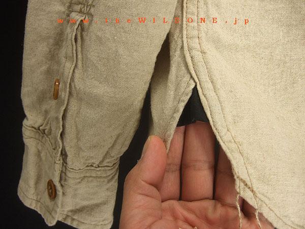 REAT LAKES by freewheelers 【SKAGIT スカギット】ハーフジッププルオーバーシャツ<ナチュラルベージュ>