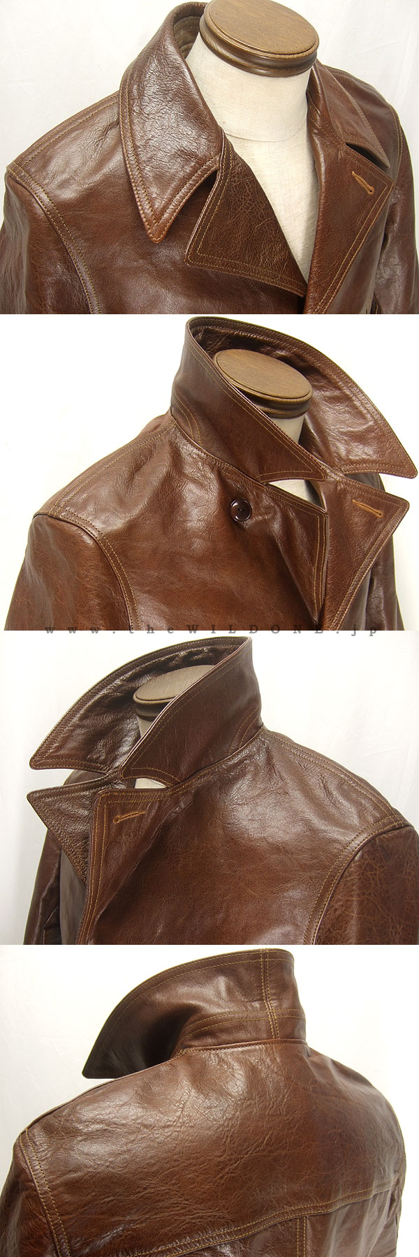 NEAL CASSADY RAILROAD by freewheelers 【SWITCHYARD COAT スイッチヤード コート <DEAD-LEAF BROWN デッド・リーフ ブラウン>】