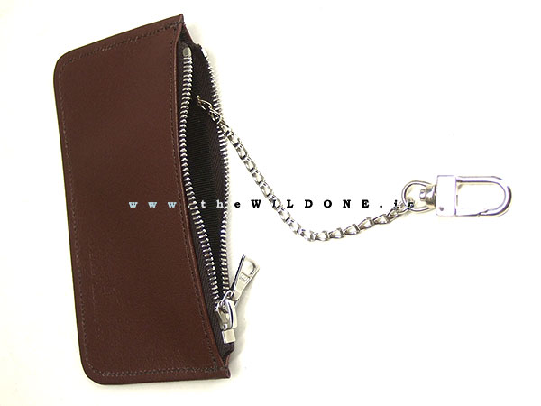 """【TALL BOY】 by warp and woof  """"Grain Leather KEY+COIN CASE""""  <BROWN>"""