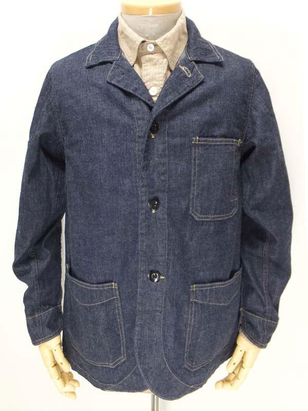 ダッパーズ【クラシカルワーク テーラードジャケット LOT921 <デニム>】 Dapper's 【Classical Work Tailored Jacket LOT921 <DENIM>】