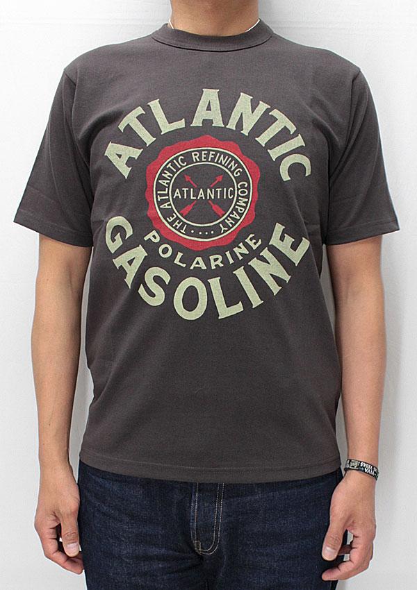 フリーホイーラーズ 新ミディアムウェイト半袖Tシャツ 【アトランティック <チャコールブラック>】 freewheelers NEW MEDIUM WEIGHT T-shirts 【ATLANTIC <CHARCOAL BLACK>】