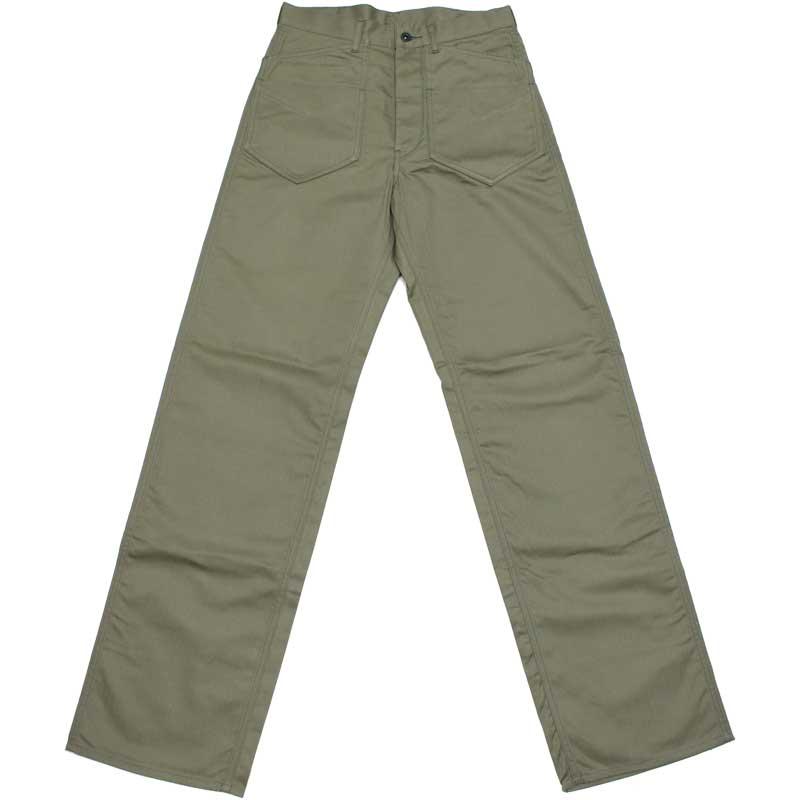 ダッパーズ 【Lot 1410 クラシカル・ダブルポケット・ワークパンツ <ライトオリーブ>】 DAPPER'S 【Classical Double Pocket Work Pants Lot 1410 <LIGHT OLIVE>】