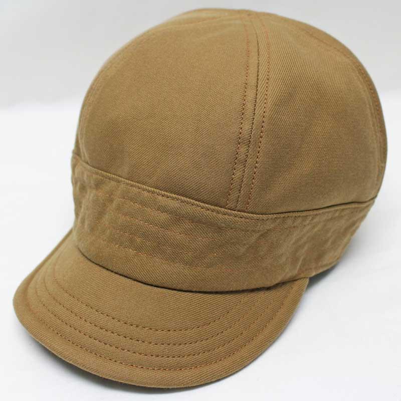 フリーホイーラーズ ワークキャップ 【ガスリー <キャメル> ダブルウィーブツイル】 FREEWHEELERS 20's style work cap 【GUTHRIE <CAMEL> Heavy Weight Double Weave Twill】
