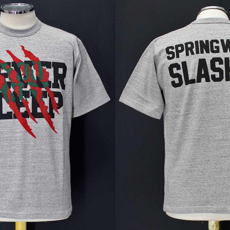 フリーホイーラーズ ライトウェイトTシャツ 【スプリングウッド・スラッシャー <ミックスグレー>】 FREEWHEELERS 2025019 Light Weight T-shirts 【SPRINGWOOD SLASHER <MIX GRAY>】