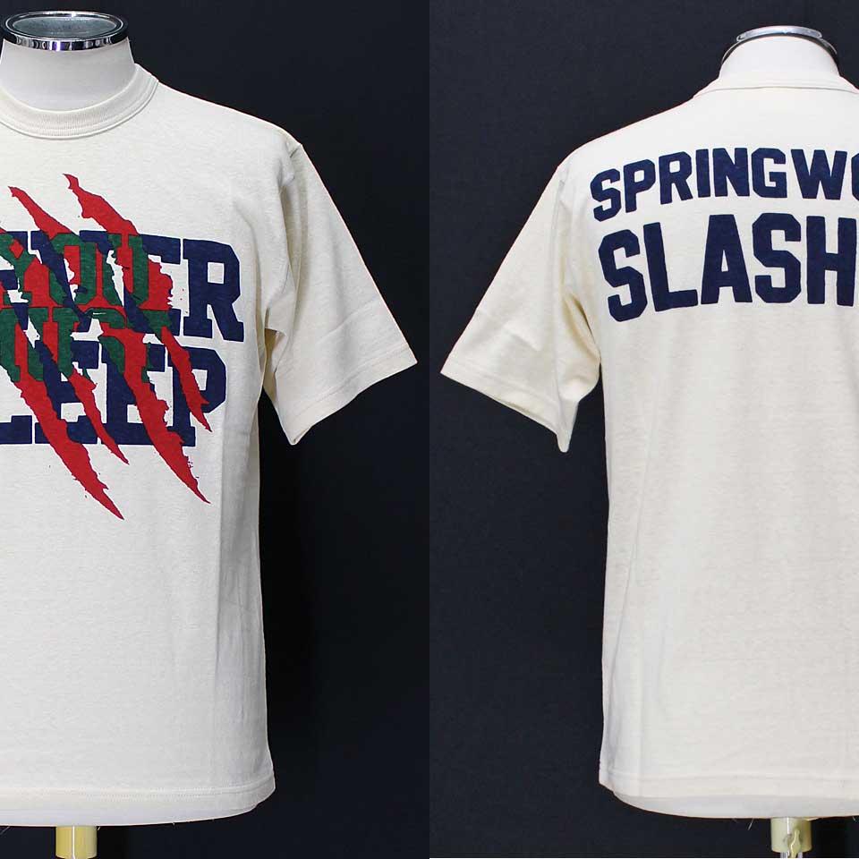 フリーホイーラーズ ライトウェイトTシャツ 【スプリングウッド・スラッシャー <ストロークリーム>】 FREEWHEELERS 2025018 Light Weight T-shirts 【SPRINGWOOD SLASHER <STRAW CREAM>】