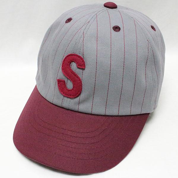スピアーズ : ベースボールタイプ スポーツキャップ 【SS-001 <グレー x ワイン>】 SPEIER'S : BASEBALL TYPE SPORTS CAP 【SS-001 <GRAY x WINE>】