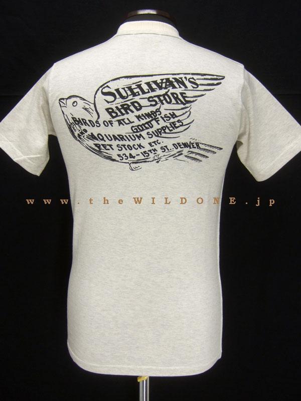 WARP AND WOOF オリジナルボディTシャツ 2012 NEWモデル 「SULLIVAN'S」 オートミール